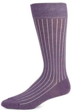 Saks Fifth Avenue Striped Stretch Socks