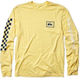 Quiksilver Men's Checkas Long-Sleeve T-Shirt