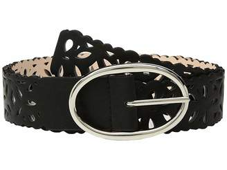 Steve Madden Reversible Perforated Belt