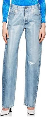Balenciaga Women's Laminated Jeans