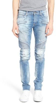 Men's Hudson Jeans Blinder Skinny Fit Moto Jeans $305 thestylecure.com
