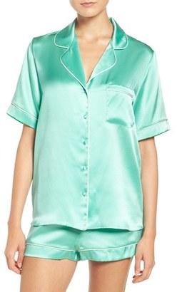 Women's Christine Lingerie Silk Pajamas $355 thestylecure.com