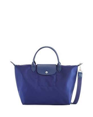 Longchamp Le Pliage Neo Medium Handbag with Strap $245 thestylecure.com