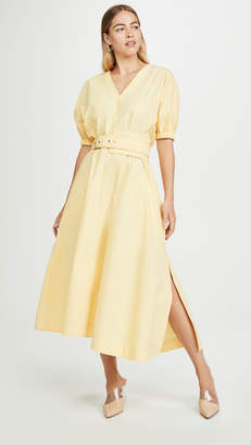 3.1 Phillip Lim Puff Sleeve Belted Dress