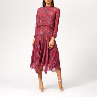 Whistles Women s Abstract Animal Carlotta Dress c04875196