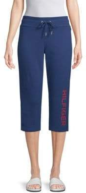 Tommy Hilfiger Drawstring Cropped Pants