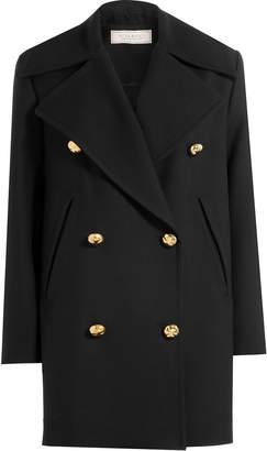 Nina Ricci Wool Coat with Silk