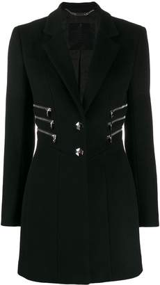 Philipp Plein zipper coat