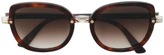 Face À Face round shaped sunglasses