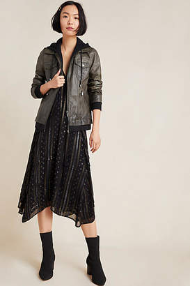 Bagatelle Patti Hooded Faux Leather Jacket