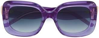 Pomellato Eyewear rectangular frame glasses