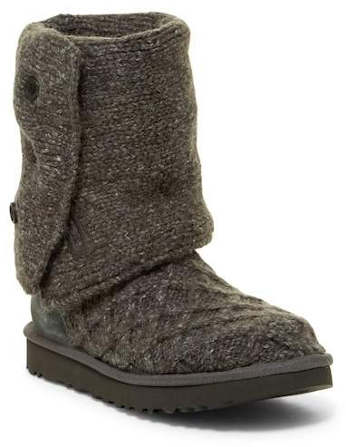 UGG Australia Lattice Cardy Knit Boot