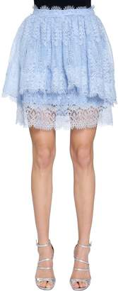 Ermanno Scervino Layered Lace Skirt