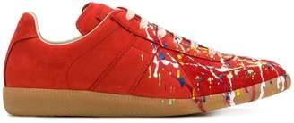 Maison Margiela Replica paint design sneakers