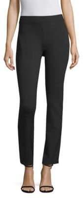 Donna Karan High Waisted Straight Leg Pants