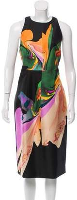 Josh Goot Abstract Print Silk Dress