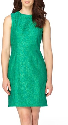 Women's Tahari Lace Sheath Dress $128 thestylecure.com