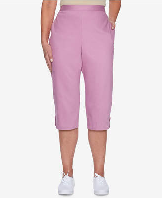 Alfred Dunner Los Cabos Pull-On Capri Pants