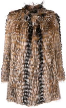 Yves Salomon short fur coat