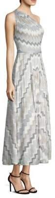 Missoni One-Shoulder A-Line Dress