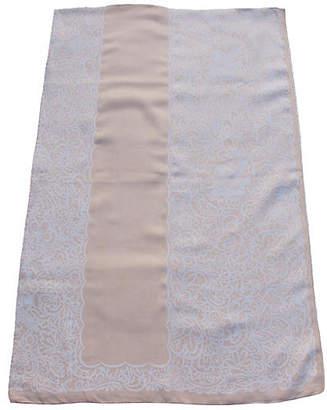 One Kings Lane Vintage Linen Damask Tablecloth