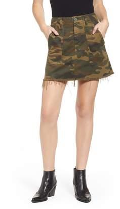 Blank NYC BLANKNYC Camouflage Miniskirt