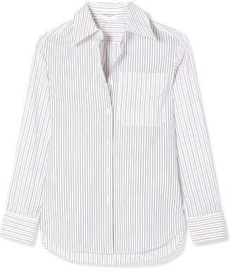 Sonia Rykiel Striped Cotton-poplin Shirt - White