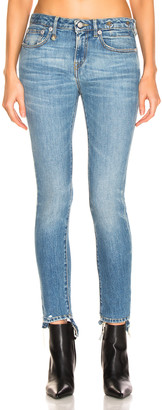 R 13 Cropped Alison Skinny in Parker | FWRD