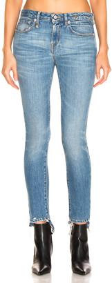 R 13 Cropped Alison Skinny in Parker | FWRD