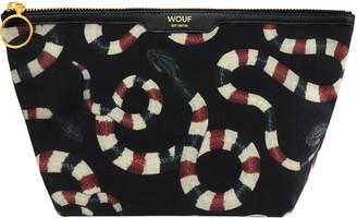 Wouf - Snakes Velvet Cosmetic Bag