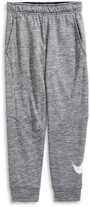 Nike Boy's Logo Cotton Therma Jogger Pants