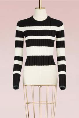 Proenza Schouler Striped Wool Sweater