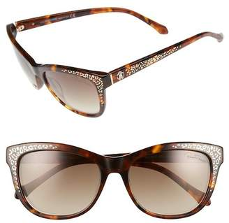 Roberto Cavalli Women's Tsze 55mm Square Acetate Frame Sunglasses