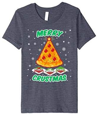 Merry Crustmas shirt - Funny Christmas Pizza t-shirt