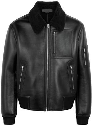 Stella McCartney Black Faux Leather Jacket
