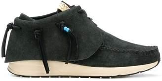 Visvim fringed short boots