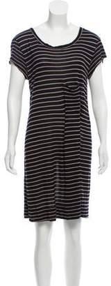 A.L.C. Striped Knit Dress