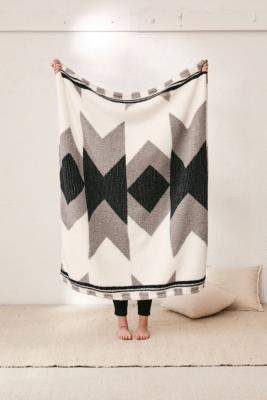 Urban Outfitters Printed Amped Fleece Throw Blanket