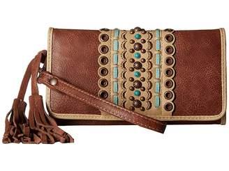 M&F Western Laney Clutch Wallet