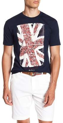 Ben Sherman Union Jack Front Graphic Print Tee