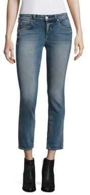 Amo Kate Cropped Straight-Leg Jeans