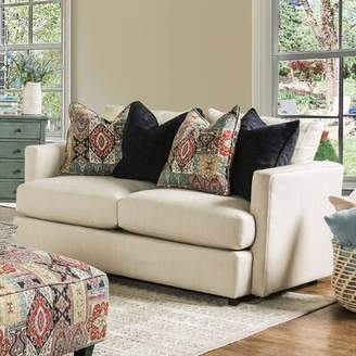 Bungalow Rose Emory Contemporary Loveseat