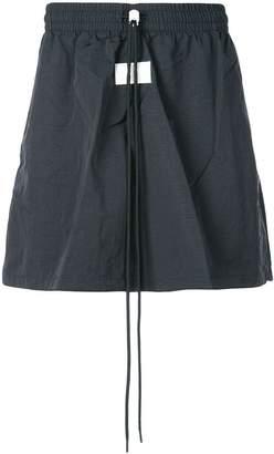 Nike oversized drawstring waist shorts