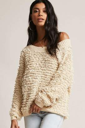 Forever 21 Chenille Loop Sweater