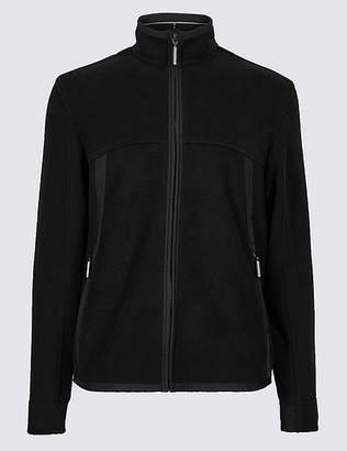 Marks and Spencer Funnel Neck Fleece Jacket with StormwearTM