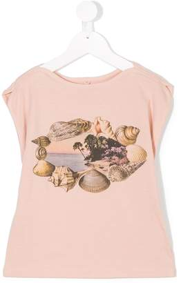 Stella McCartney Delta shells print top