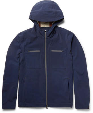 Loro Piana Cotton-Blend Shell Hooded Jacket