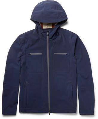 Loro Piana Cotton-Blend Shell Hooded Jacket