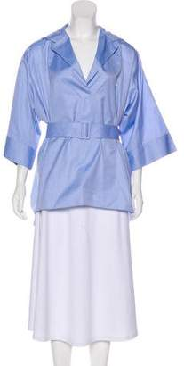 The Row Oversize Belted Tunic