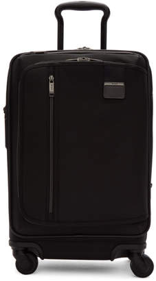 Tumi Black Merge International Expandable Carry-On Suitcase